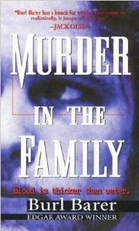 Buy Burl Barer MURDER IN THE FAMILY