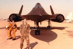 Bradley Nickell 1990 Beale AFB SR-71