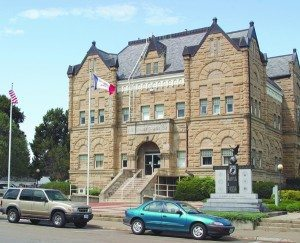 Shelby County Courthouse, Harlan, Iowa (Photo courtesy of The Harlan Newspapers)