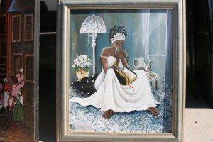 Annie Lee painting
