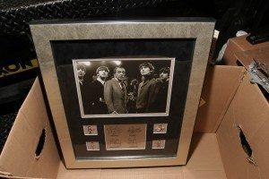 Autographed Beatles