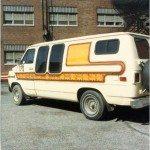 David Penton's van
