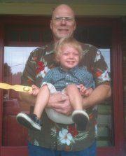 kevin sullivan with grandchild