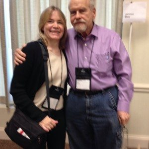 With Lawrence Block at Bouchercon 2015.