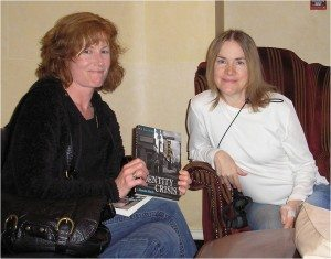 Debbi Mack and Irish writer Caren Kennedy