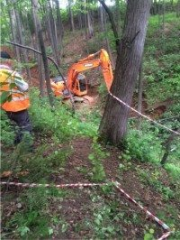 excavator romanov
