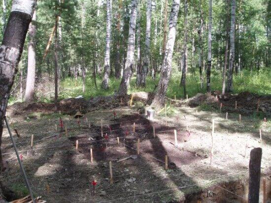 Romanov children gravesite