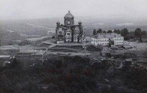 White Mountain monastery in ruins