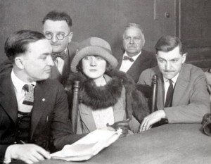 Beulah Annan at one of her hearings. DN-0076803, Chicago Daily News, 4 April 1924 in Chicagology
