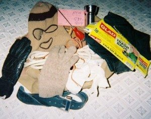 Ted Bundy's murder kit, as seen by Kevin Sullivan