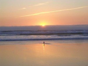 Sunsets on the beach are just one reason to be in San Diego for the Beach Writing Salon III
