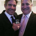 Bradley Nickell and Actor Dennis Quaid