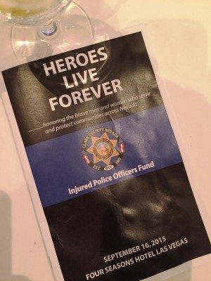 Injured Police Officer's Fund sponsor program