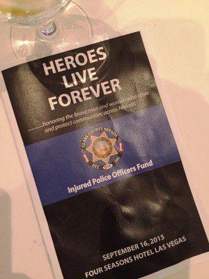 Injured Police Officer's Fund sponsor program