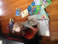 One of Amy's young readers