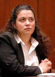 Angelina Rodriguez, 35, was sentenced to death Jan. 12, 2004 for the poisoning death of her husband in 2000. (SGV News Group staff photo by Leo Jarzomb.)