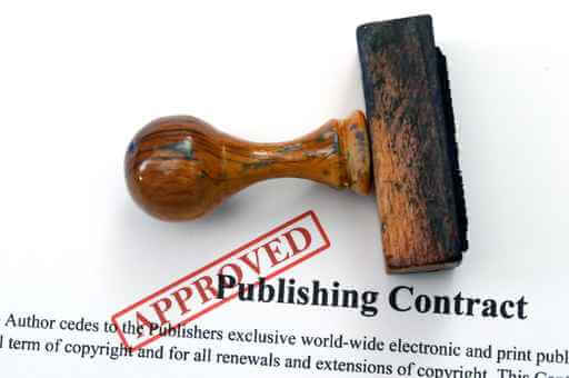 Publishing contract, authors