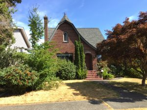 The Burr home at 3009North 14th Street in Tacoma, Washington. It was here, in the early morning hours of September 1, 1961, that someone (maybe Bundy), entered the house and led little 8 year old Ann Marie Burr out into the night, and never to be seen again