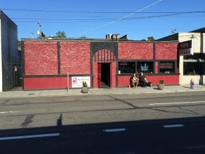 Dante's tavern, located at 5300 Roosevelt Way NE. bundy was a frequent visitor here, as was Lynda Ann Healy, who lived only blocks away. It is likely Bundy followed Lynda and her friends home that evening, and decided to come back later that evening and attack her