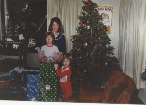 Nancy Newman and her two girls, Melissa and Angie.
