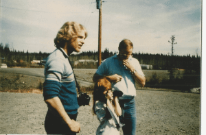 Killer Kirby Anthoney with one his victims, Melissa Newman, and her father, John Newman