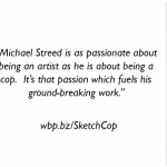 Countdown Deal Days for Michael W. Streed's True Crime Book, SketchCop!