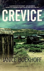 The Lost Dutchman's Mine, Murder and Romance Rolled Into Debut Novel CREVICE