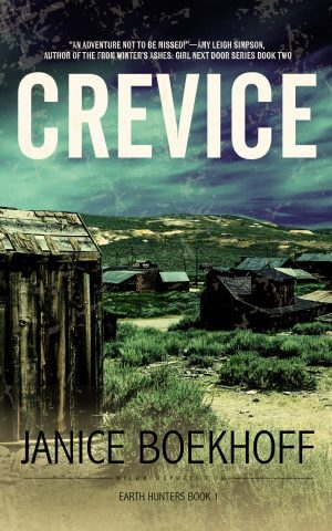 CREVICE: Earth Hunters Series--Book One Myatery Books Available