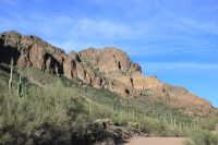 Road to Hewitt Canyon