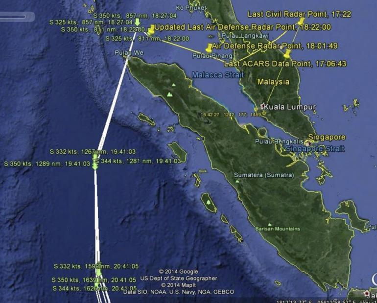 EXPLAINING THE DISAPPEARANCE OF MALAYSIA AIRLINES FLT 37O: The Most ...