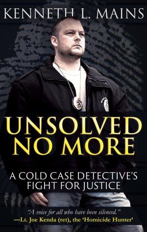 UNSOLVED NO MORE: A Cold Case Detective's Fight For Justice True Crime Books Available