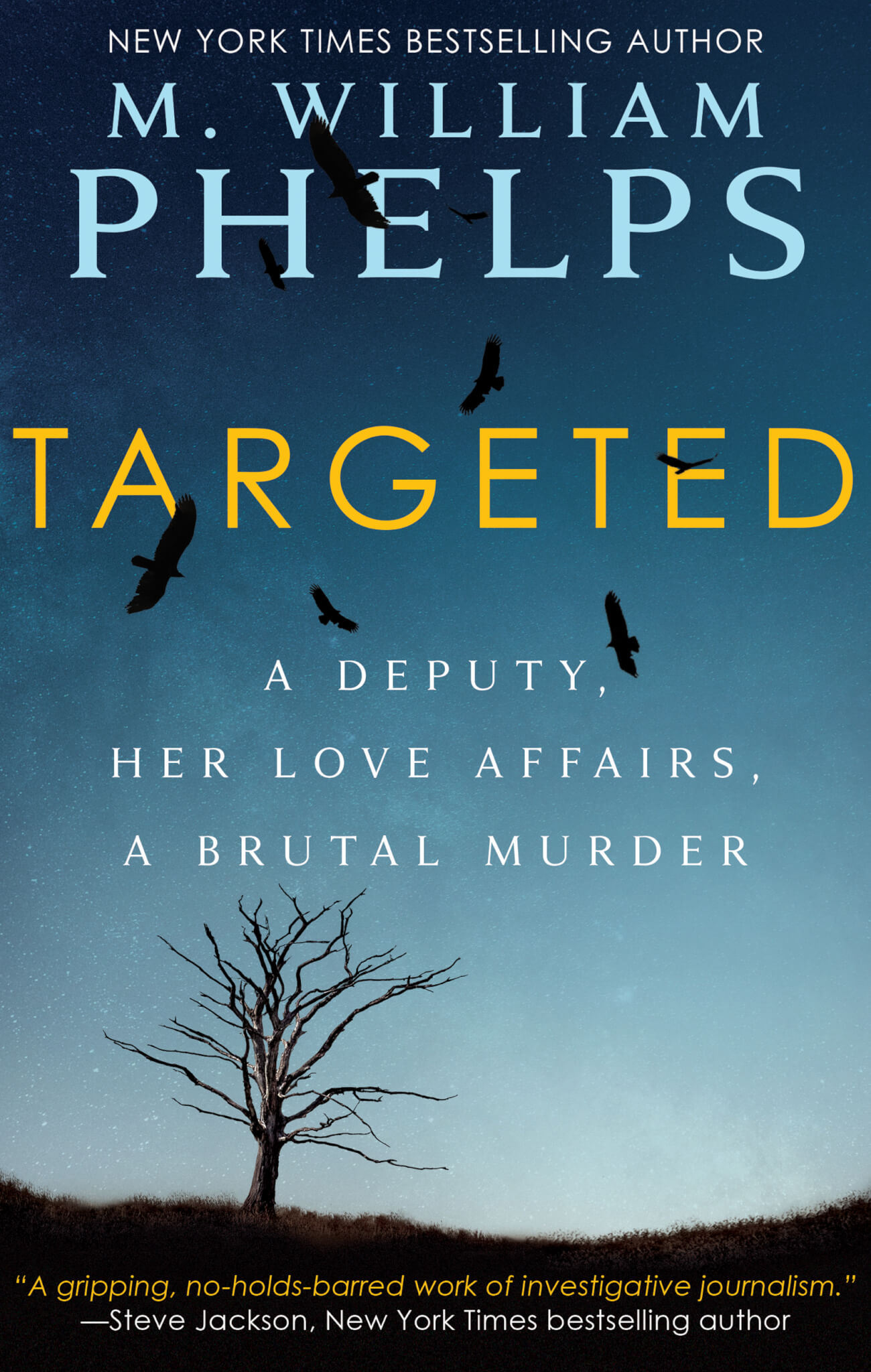 Bestselling Author M  William Phelps Provides Another True Crime Hit