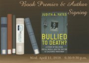 Premier Book Signing For Upcoming True Crime BULLIED TO DEATH