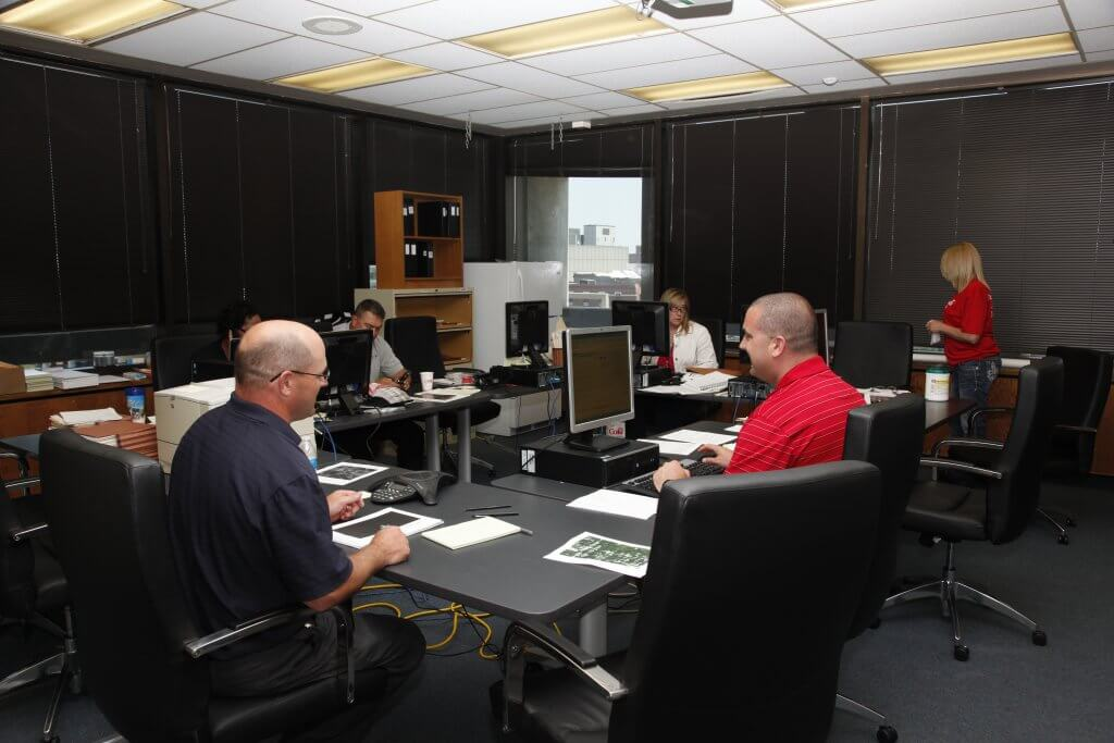Task Force Room. Omaha Police Department Photo