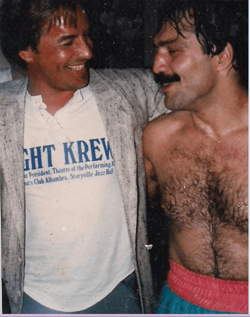 Vinnie Curto and Don Johnson