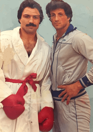 Vinnie Curto and Sylvester Stone