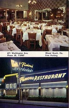 Famous Restaurant Miami Beach