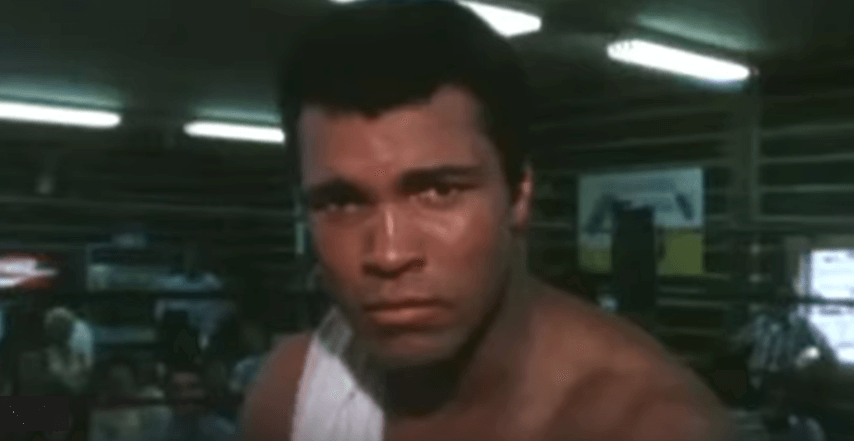 Muhammad Ali at his Deer Lake Camp