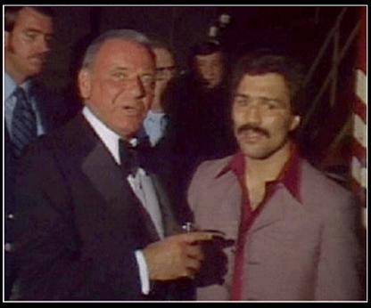Vinnie Curto and Frank Sinatra