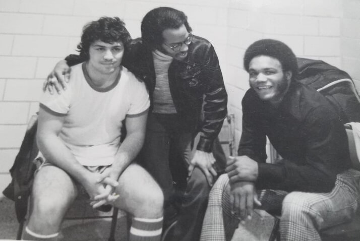 Vinnie, Ricky Simaratena, and Vern McIntosh at 5th St. Gym