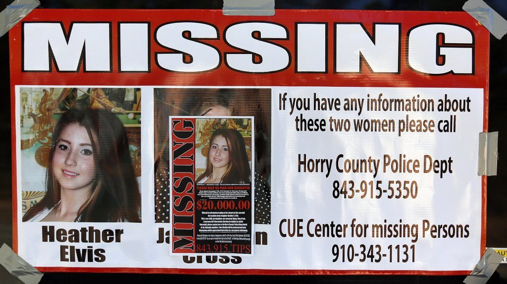 Missing Flyer Heather Elvis MISSING ... AND PRESUMED DEAD