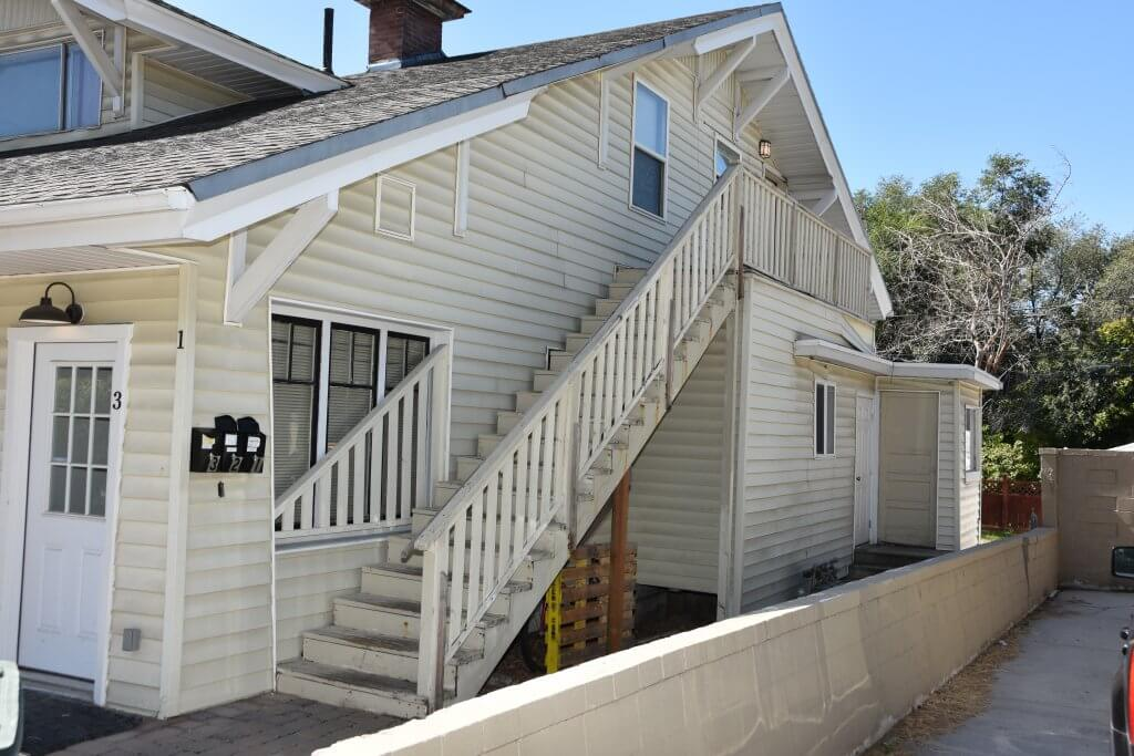 Bundy lived in this upstairs apartment at 364 Douglas Avenue near the University of Utah law school.  Courtesy Francine Bardole