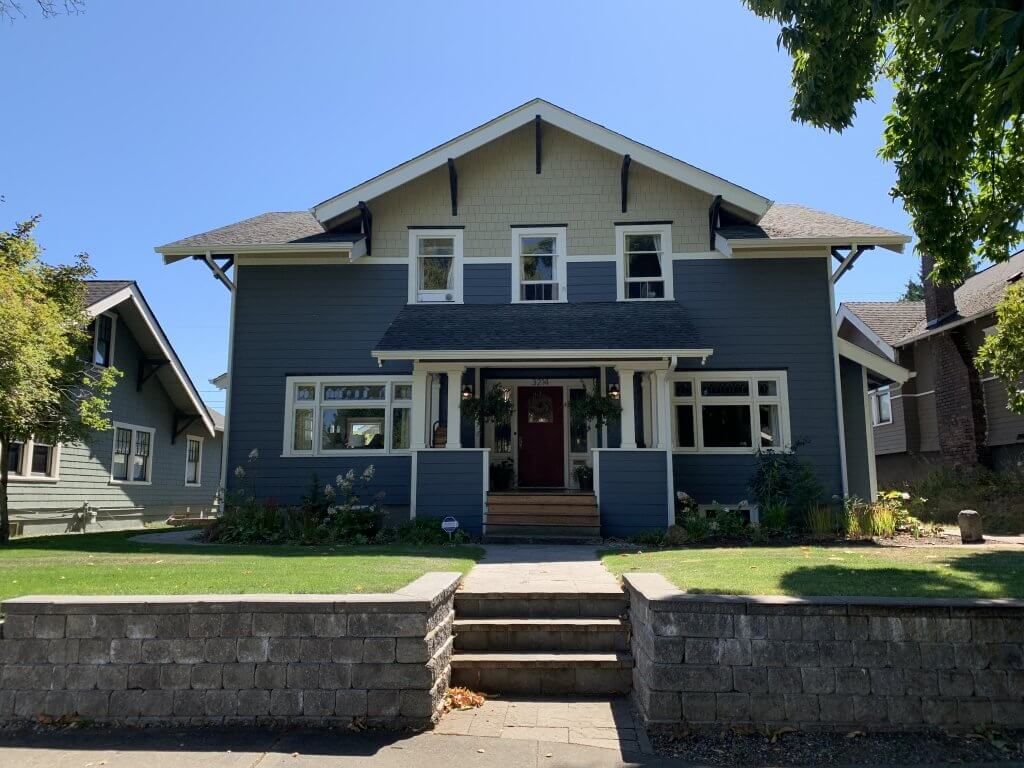 The Bundy residence at 3214 North 20th Street, Tacoma, Washington. The Bundy's moved here in the mid-1960s.