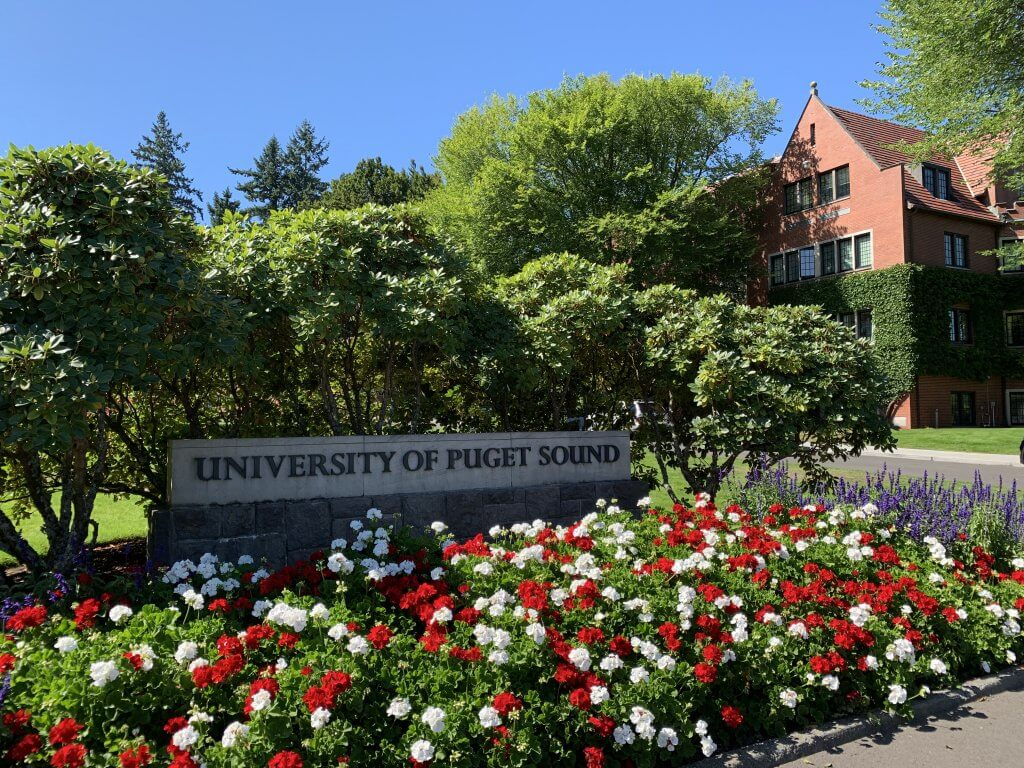 The University of Puget Sound.  Ted Bundy would enroll at the university and begin classes in September 1965, and would spends just two semesters at the school. (Courtesy of Gina Wilmoth)
