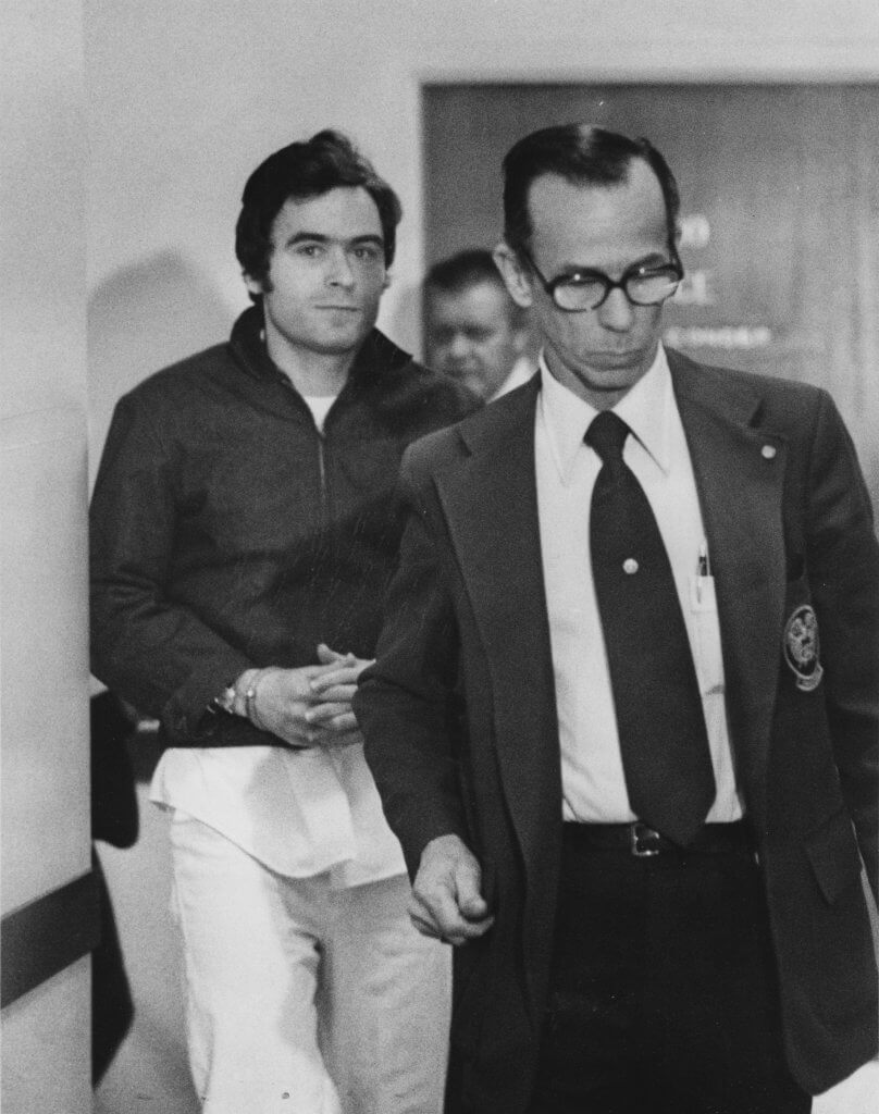 Ted Bundy unknown date by the Salt Lake Tribune