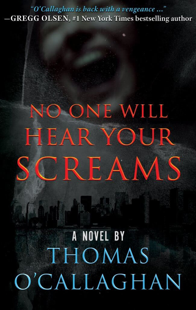NO ONE WILL HEAR YOUR SCREAMS Kindle Cover