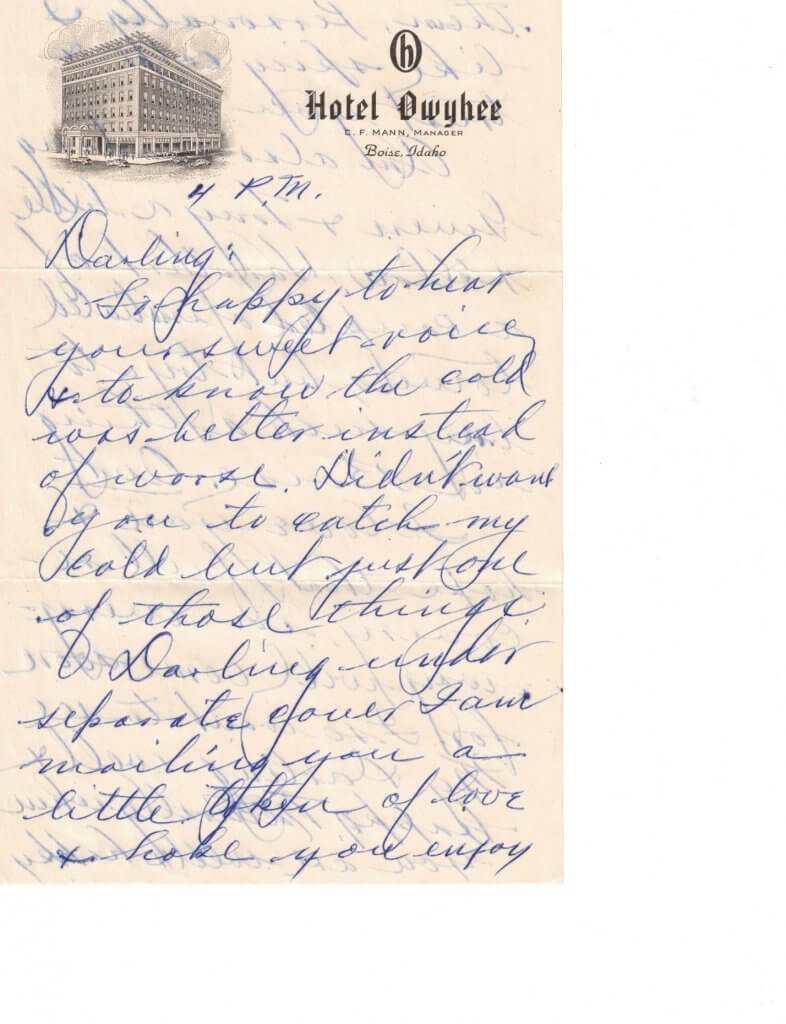 WILLIS LETTER No 11 - P1– 9-9-46