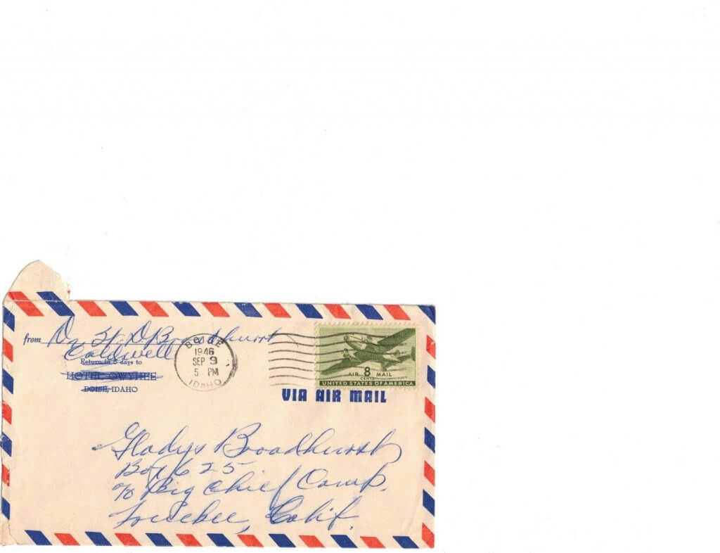 ENVELOPE FOR No 11
