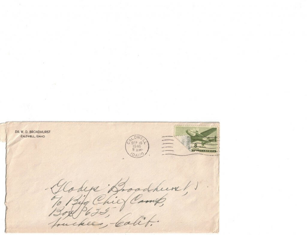 ENVELOPE FOR No 12