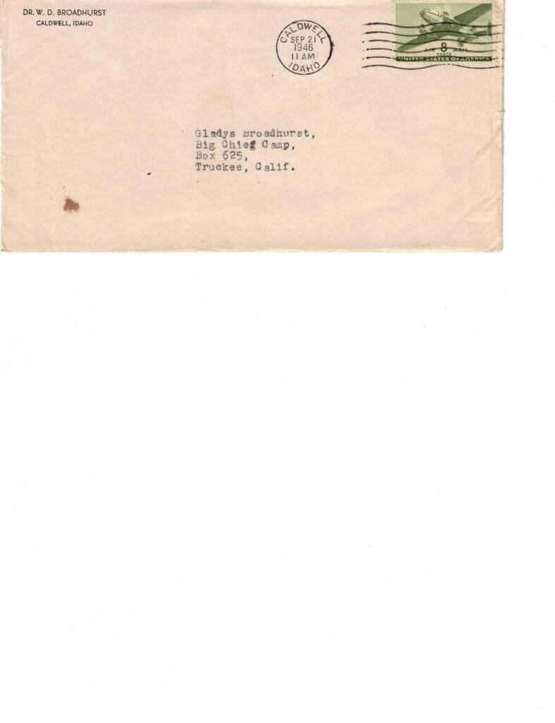 ENVELOPE FOR No 14